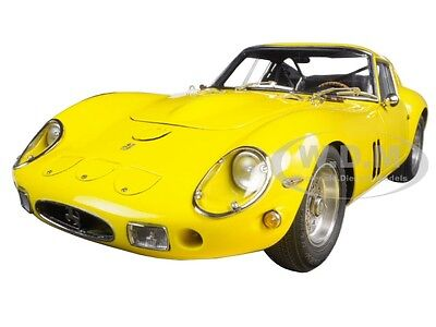 1962 FERRARI 250 GTO YELLOW 1/18 DIECAST MODEL CAR BY CMC 153