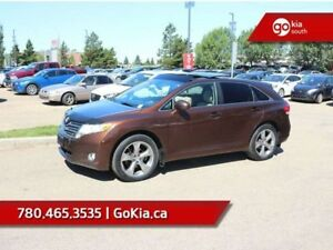 2012 Toyota Venza LEATHER, SUNROOF, AWD, HEATED SEATS, BACKUP CA
