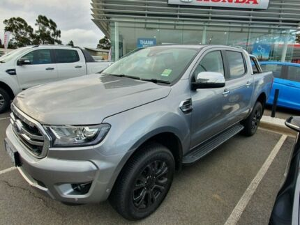 2019 Ford Ranger PX MkIII 2019.00MY XLT Pick-up Super Cab Aluminium Silver 10 Speed Sports Automatic Traralgon Latrobe Valley Preview