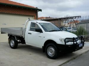 2011 Mitsubishi Triton MN MY11 GLX 4x2 White 4 Speed Automatic Cab Chassis Mount Lawley Stirling Area Preview