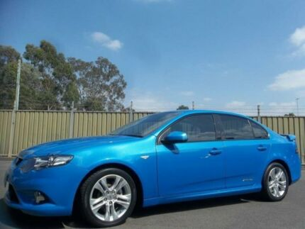 2011 Ford Falcon FG Upgrade XR6 Blue 6 Speed Auto Seq Sportshift Sedan