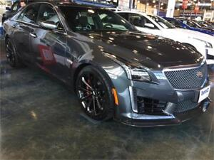NEW 2018 Cadillac CTS-V Sedan CARBON FIBRE PACKAGE