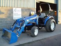 Used New Holland TC40 tractor with loader