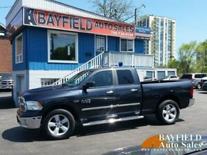 2017 Ram 1500 SLT Quad Cab 4x4 **HEMI/Navigation/Heated Seats**