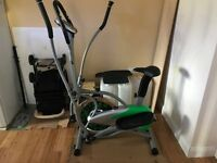 2 in 1 EXERCISE BIKE / CROSS TRAINER
