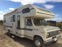 1988 24 foot ford motorhome only 56000 km