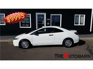 2010 Honda Civic DX-G - 2 Door Coupe - tint - Only 54377km