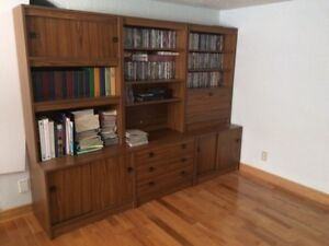 Bookcases / wall unit