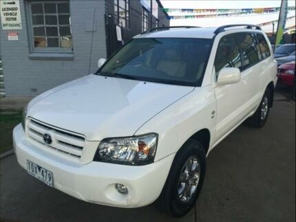 2005 Toyota Kluger MCU28R Upgrade CVX (4x4) 5 Speed Automatic Wagon Footscray Maribyrnong Area Preview