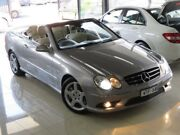 2008 Mercedes-Benz CLK280 C209 07 Upgrade Avantgarde Silver Slate 7 Speed Automatic G-Tronic Coupe Seaford Frankston Area Preview