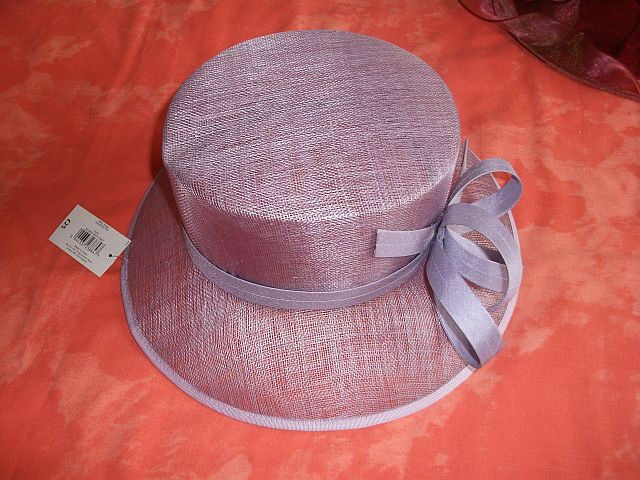 Smart pale lilac hat from Bhs