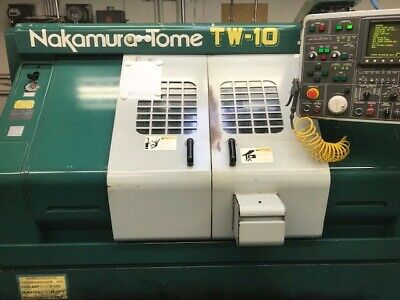 Nakamura-tome Tw-10sp Twin Turret Sub-spindle Live Tooling Lathe