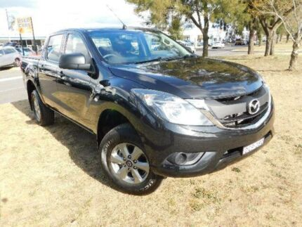 2015 Mazda BT-50 MY16 XT (4x2) Black 6 Speed Manual Dual Cab Utility Belconnen Belconnen Area Preview