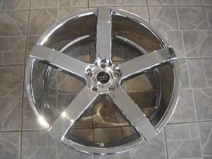 """Kit roues de mag avec pneus neufs 18"""" #M16"""