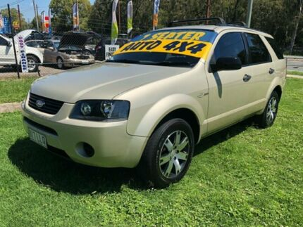 2008 Ford Territory SY SR (4x4) Gold 6 Speed Auto Seq Sportshift Wagon Clontarf Redcliffe Area Preview