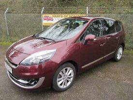 Renault Grand Scenic 1.5 Dynamique TomTom Luxe DCi Turbo Diesel 7 Seater (damask red) 2012
