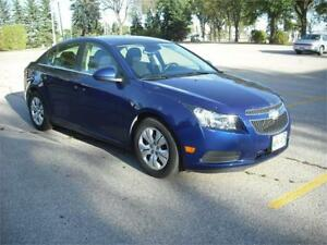 2013 Chevrolet Cruze LT Turbo *1 Owner, Powertrain Warranty*