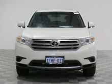 2012 Toyota Kluger GSU45R MY11 Upgrade KX-R (4x4) 7 Seat White 5 Speed Automatic Wagon Jandakot Cockburn Area Preview