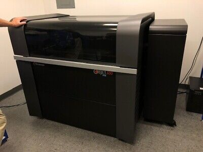 Used Stratasys Objet 500 Connex 3 3d Printer 2014 19.15.8 16 Micron Layers