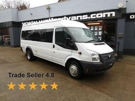 2012 Ford Transit T 430 2.2TDCi 17 Seats A/C Diesel white Manual
