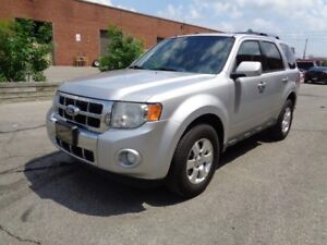 2011 Ford Escape LIMITED ### 4WD #### LEATHER SEATS#### NAVIGATI
