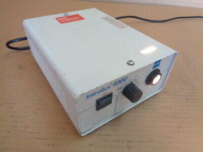 Volpi Intralux 4000 Fiber Optic Illuminator Light Source