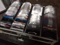 1500 + CD's in Flight Case and all cataloged