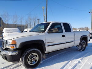 2007 GMC SIERRA 2500HD CLASS-6.0L V8-5TH WHEEL READY-NO ACCIDENT