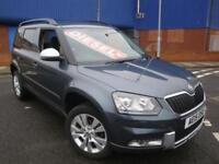 15 SKODA YETI CR TDI ELEGANCE DIESEL *HEATED LEATHER*PARKING SENSORS*