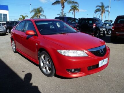 2004 Mazda 6 GG1031 MY04 Luxury Sports Red 4 Speed Sports Automatic Hatchback Heatherton Kingston Area Preview