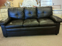 New leather sofa only $348 in stock we deliver lowest price