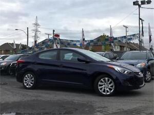 2013 Hyundai Elantra/AUTO/AC/CRU/USB/BLUET/ECO/BAS KM/1 PROP!!!