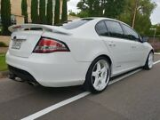 2011 Ford Falcon FG XR6 White 6 Speed Sports Automatic Sedan Medindie Walkerville Area Preview