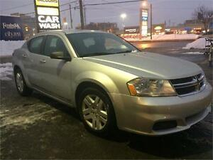 2012 Dodge Avenger, auto, 4cyl,ONLY 58k,cert./warranty available