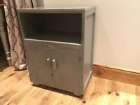 Lovely Grey Painted Wood Unit