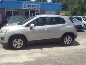 2013 Chevrolet Trax LS No Accidents! Fully Certified!