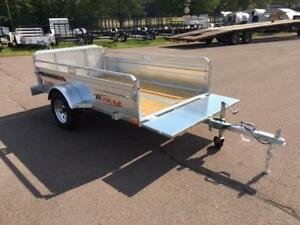 "NEW 2018 K-TRAIL 56"" x 8' GALVANIZED UTILITY TRAILER"