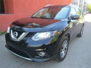 2014 Nissan Rogue SL PANORAMA 4WD .CUIR. NAV. $59 SEMAINE