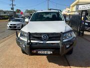 2012 Volkswagen Amarok 2H MY12 TDI400 Trendline (4x4) White 6 Speed Manual Dual Cab Utility Port Macquarie Port Macquarie City Preview