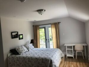 Furnished Suite / Room Southend Halifax Private bathroom $675