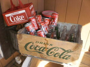 Coke Crate Carrier Bottles