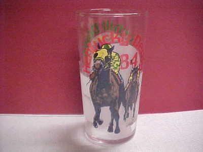 1984 Kentucky derby glass  Mint condition - Kentucky Derby Glasses