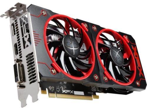 XFX Radeon RX 460 DirectX 12 RX-460P4DFG5 4GB 128-Bit GDDR5 PCI Express 3.0 Cros