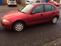 Rover 200 (214 SI) 5 door Hatchback - Petrol - Red