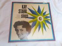 Vinyl LP Kay Starr Sings Pickwick International PR 136 Mono 1964