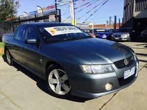 2006 Holden Crewman VZ Storm 4 Speed Automatic Crew Cab Utility Brooklyn Brimbank Area Preview