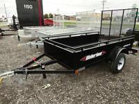 8' utility trailer: $1390.00