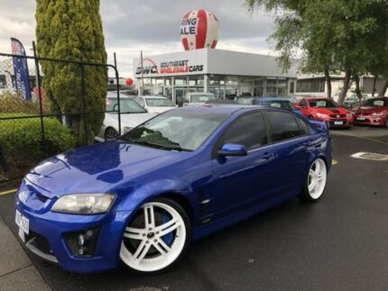 2007 Holden Special Vehicles Clubsport E Series R8 Blue 6 Speed Manual Sedan Seaford Frankston Area Preview