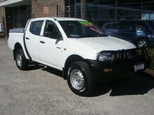 2007 Mitsubishi Triton ML GLX (4x4) White 5 Speed Manual 4x4 Wangara Wanneroo Area Preview