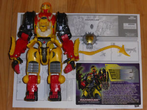 TRANSFORMERS BOTCON 2009 RAZORCLAW PREDACON EXCLUSIVE